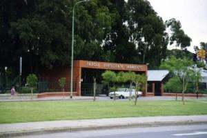 Harán reservorios en el Parque Sarmiento