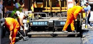 Nuevos trabajos de repavimentación en las calles de Rosario