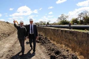 La provincia suscribirá el préstamo con el Fondo kuwaití para la construcción del acueducto Reconquista