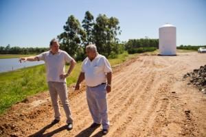 Se intensifican los trabajos en el acueducto de Villa del Rosario