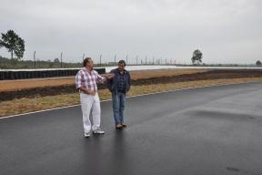 José Eleuterio Piton SA finalizo los trabajos en el autódromo de Concordia 33,4 Millones