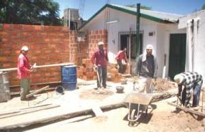 Obras de ampliación en la Escuela de Minas