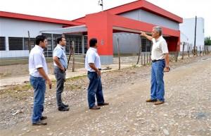 La nueva escuela primaria del barrio Taranto en Orán cuenta con un avance superior al 90%