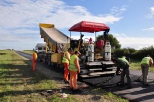 Construyen terceros carriles en la ruta provincial 11 entre Victoria y Gualeguay