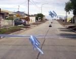 Mestre inauguró más obras de pavimento en Villa Eucarística