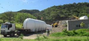 Importante obra de servicio de agua potable en Fray Mamerto Esquiú