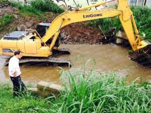 Avanzan tareas en la cuenca del Maldonado