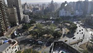 Agregarán un carril a la rotonda de Plaza España para aliviar el tránsito
