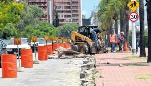 Obras del carril Sólo Bus demandarán cinco meses