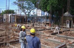Avanza la obra del Centro de Recuperación Nutricional del hospital de Tartagal