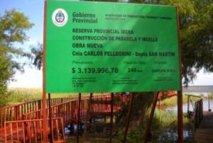 Garupa SRL contruyo en el Iberá la mayor obra de muelle y pasarelas que refuerzan el contacto con la naturaleza