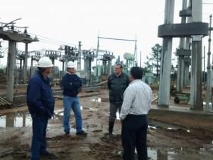 Importante avance en la construcción de la Estación Transformadora de Villaguay