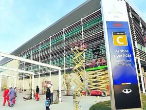 La UTE Riva y NIRO comenzó a construir nuevo hangar en Ezeiza . $400 Millones
