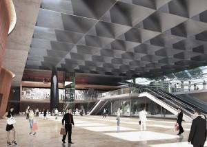 Avanza en Recoleta la obra del nuevo centro de exposiciones