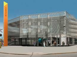 De Paoli-Trosce-Prat (UTE), Empiezan a construir la estación de trenes en la zona sur de Rosario, $36,5 Millones