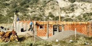 El IPV acelera la construcción de 32 nuevas viviendas en el barrio Presidente Perón de Madryn