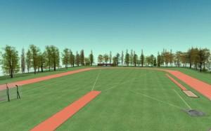 En noviembre ICA SRL inicia la construcción de una nueva pista olímpica en Tostado. $6,4 Millones
