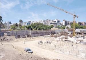 Un pozo gigante para el nuevo Centro de Convenciones bajo tierra en Recoleta $336 Millones