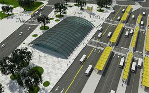 Constitución: Metrobus, trenes y subte, en un único centro de transbordo. $ 120 Millones