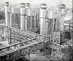 Se puso en marcha la central termoeléctrica Vuelta de Obligado