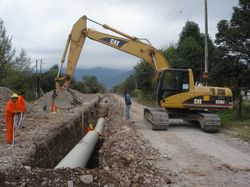 Avanza la obra del acueducto Desvío Arijón. $418 Millones