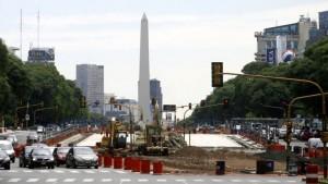 Buenos Aires triplica la cifra de obra vial proyectada $881 Millones