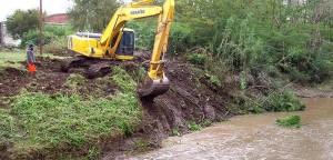 Saneamiento de arroyos de Ciudad de Luján $16 Millones