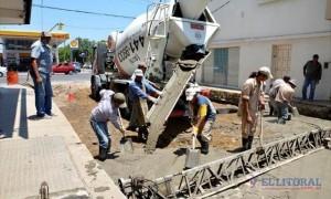 70 cuadras de pavimento en Corrientes $47 Millones