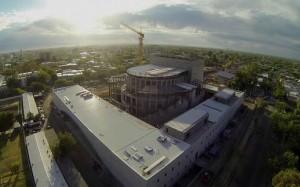 Panedile avanza en la obra del Teatro del Bicentenario en San Juan $279,8 Millones