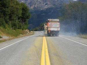 Equimac S.A Realiza Tareas de Demarcación Horizontal en Ruta Nacional N° 3