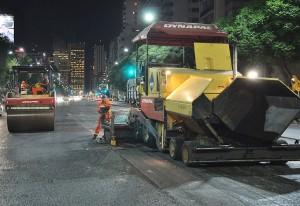 El gobierno porteño triplica la cifra de asfaltado proyectado