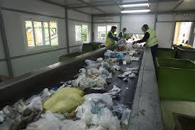 Línea automática para la recepción, separación y preparación de materiales reciclables $54 Millones
