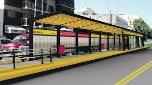 Adjudicaron el metrobús de la avenida San Martín $72 Millones