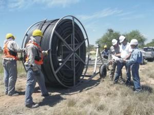 Tendido de Cable de Fibra Óptica entre Retiro y José León Suarez de la Línea Mire $24 Millones