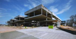 Avanza a buen ritmo la ampliación del hospital de Parera