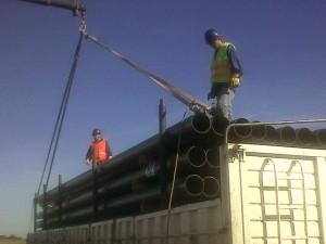 Materiales para el Gasoducto Regional Sur