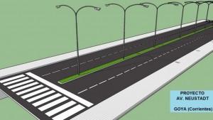 10 ofertas presentadas para la Avenida Neustad en Goya – $43 Millones