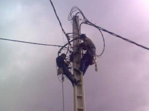 Red de Distribución Eléctrica y Alumbrado en Chacabuco