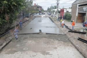 Quilmes Pavimentacion de 32.000 metros cuadrados de Hormigón $44,7 Millones
