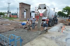 Plan de Pavimentación en barrio Colón – Sunchales