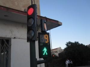 Semáforos en Bahía Blanca