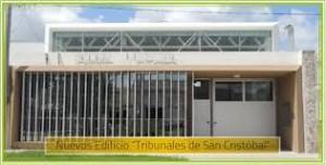 Dos oferta para construcción de Nuevos Tribunales de San Cristóbal$21 Millones