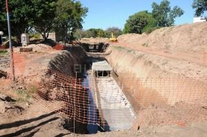 Tercer Tramo del desagüe Larrea $90 Millones: Cinco Ofertas Presentadas