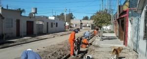 Avanzan obras en Bº San Lorenzo