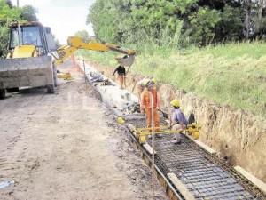 Obras Hídricas para la Cuenca Flores $17 Millones