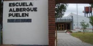 Reparación de la Escuela Hogar de Puelén