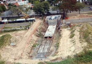 Avanza la construcción del desagüe Llerena