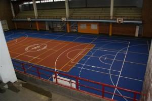 Limpieza y reparación de Polideportivo de Luján