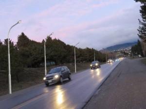 Obras de Iluminación en Accesos a Bariloche