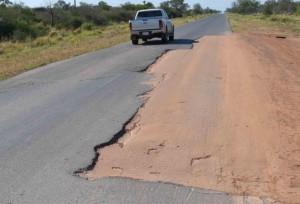 Rovella Carranza SA empieza la reconstrucción de la Transchaco